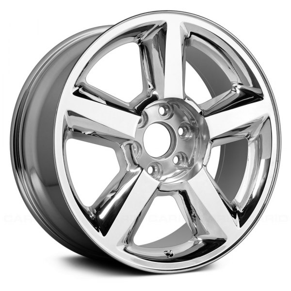"Replace® - 20"" Remanufactured 5 Spokes Chrome Factory Alloy Wheel"