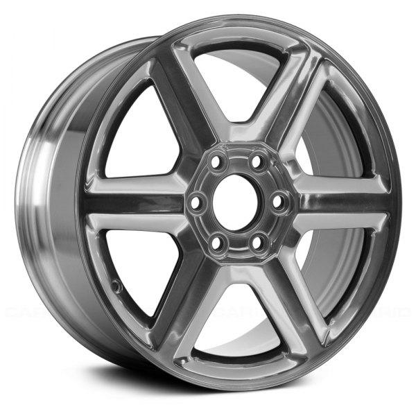 "Replace® - 18"" Remanufactured 6 Spokes Bright Polished Factory Alloy Wheel"