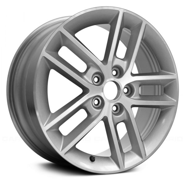 "Replace® - 18"" Remanufactured 5 Double Spokes Machined and Silver Factory Alloy Wheel"