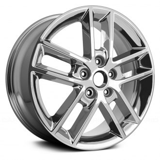 2008 chevy impala replacement factory wheels rims carid Chevy Impala 06 Unite Chimes replace 18x7 5 double spoke alloy factory wheel remanufactured