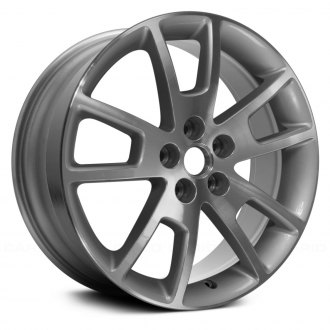 "Replace® - 18"" Replica 5 Double Spokes Machined and Silver Factory Alloy Wheel"