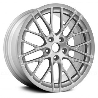 "Replace® - 20"" Remanufactured 10 Double Spokes All Painted Silver Factory Alloy Wheel"