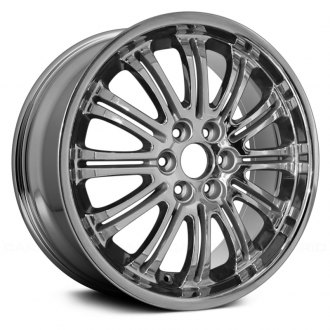 "Replace® - 22"" Remanufactured 24 Spokes Chrome Factory Alloy Wheel"