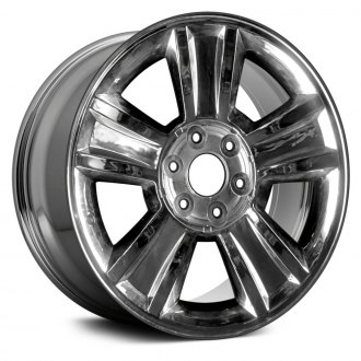 "Replace® - 20"" Replica 5 Spokes Chrome Factory Alloy Wheel"