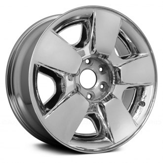 "Replace® - 20"" Replica 5 Spokes Cladded Chrome Factory Alloy Wheel"
