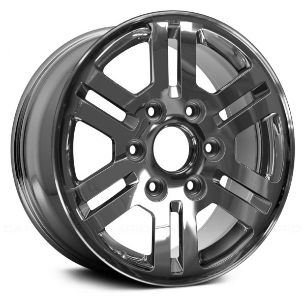 "Replace® - 16"" Remanufactured 6 Double Spokes Light PVD Chrome Factory Alloy Wheel"