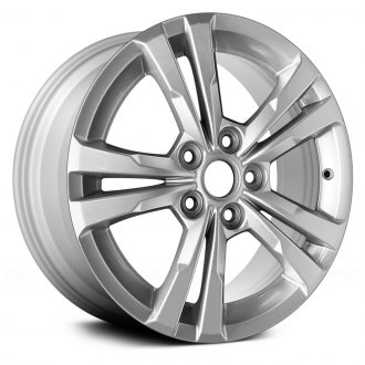 "Replace® - 17"" 5 Double Spokes Silver Factory Alloy Wheel"
