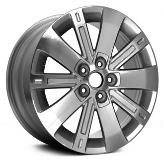 "Replace® - 18"" 10 Spokes Machined and Silver Factory Alloy Wheel"
