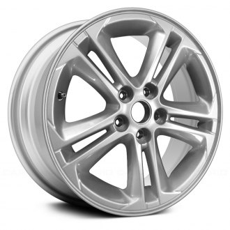 Replace 16x7 5 Double Spoke All Painted Silver Alloy Factory Wheel