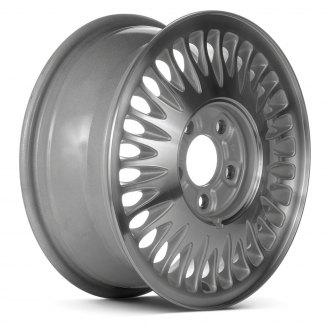 "Replace® - 15"" 30-Slot Silver Factory Alloy Wheel (Remanufactured)"