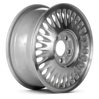 "Replace® - 15"" 30-Slot Chrome Factory Alloy Wheel (Remanufactured)"