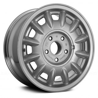 "Replace® - 15"" 12-Slot Chrome Factory Alloy Wheel (Remanufactured)"