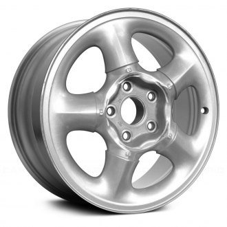 "Replace® - 16"" 5-Slot Silver Factory Alloy Wheel (Remanufactured)"