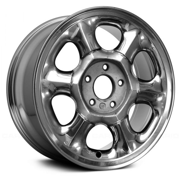 "Replace® - 16"" Remanufactured 6 Spokes Chrome Factory Alloy Wheel"