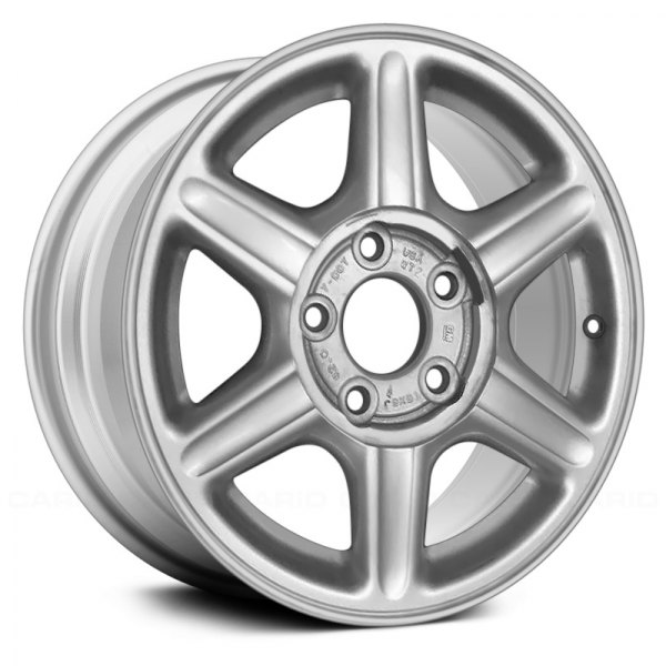"Replace® - 15"" Remanufactured 6 Spokes All Painted Silver Factory Alloy Wheel"