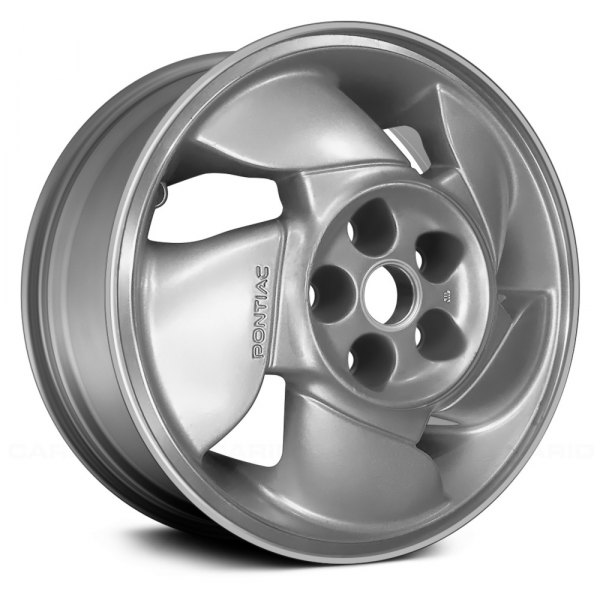 "Replace® - 16"" Remanufactured 5 Spokes Argent Factory Alloy Wheel"