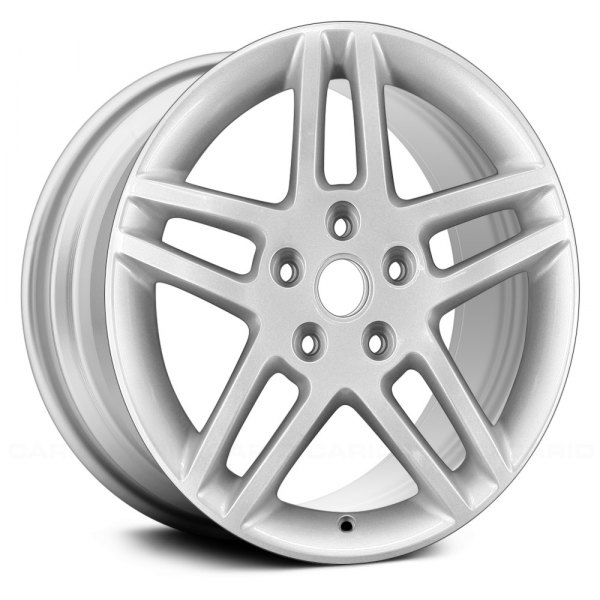 "Replace® - 17"" Remanufactured 5 Double Spokes Silver Factory Alloy Wheel"
