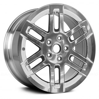 "Replace® - 17"" Remanufactured 6 Double Spokes Bright Polished Factory Alloy Wheel"