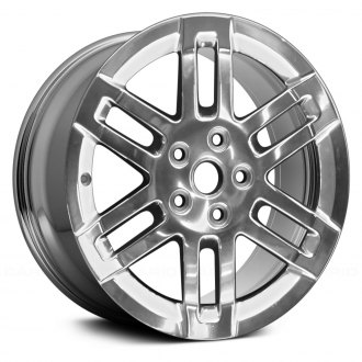"Replace® - 17"" Remanufactured 6 Double Spokes Chrome Factory Alloy Wheel"