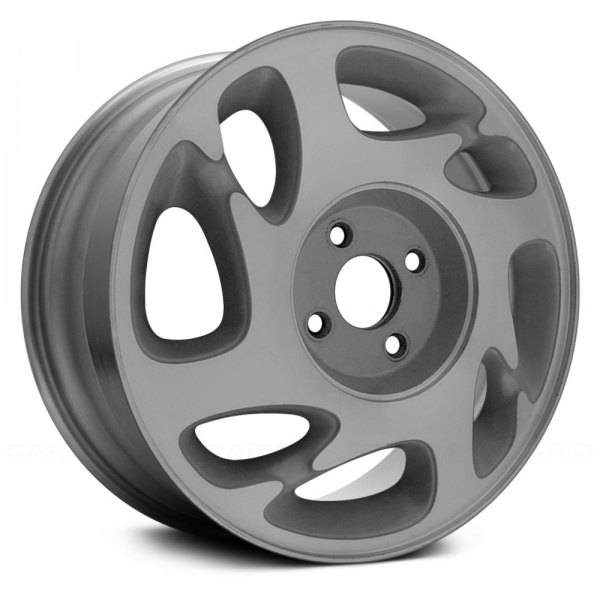 "Replace® - 15"" Remanufactured 8 Slots Flat Silver Factory Alloy Wheel"