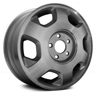 "Replace® - 15"" Remanufactured 6 Slots Machined and Silver Factory Alloy Wheel"