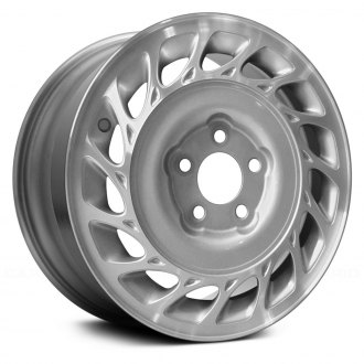 "Replace® - 15"" Remanufactured 15 Slots Machined and Silver Factory Alloy Wheel"