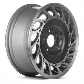 "Replace® - 15"" Remanufactured 15 Slots Charcoal Gray Factory Alloy Wheel"