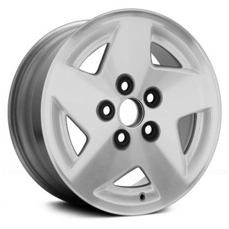 "Replace® - 15"" Remanufactured 5 Spokes Charcoal Factory Alloy Wheel"