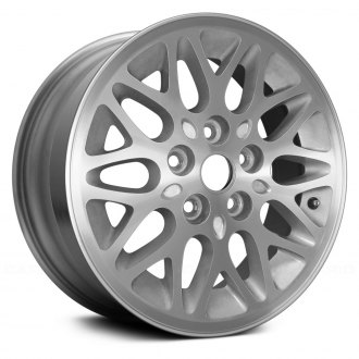 "Replace® - 15"" Remanufactured 10 Spokes Medium Gray Factory Alloy Wheel"
