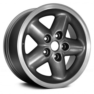 "Replace® - 15"" 5-Spoke Charcoal Gray Factory Alloy Wheel (Remanufactured)"