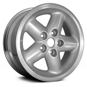 "Replace® - 15"" 5-Spoke Chrome Factory Alloy Wheel (Remanufactured)"