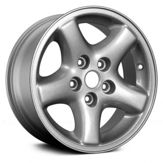 "Replace® - 15"" 5-Spoke Silver Factory Alloy Wheel (Remanufactured)"