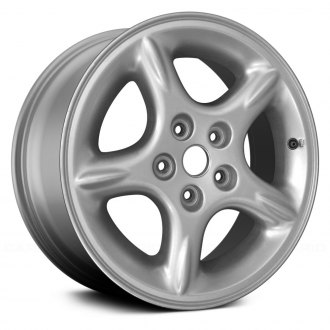 "Replace® - 16"" 5-Spoke Silver Factory Alloy Wheel (Remanufactured)"