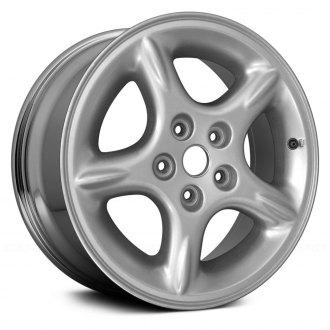 "Replace® - 16"" 5-Spoke Chrome Factory Alloy Wheel (Remanufactured)"