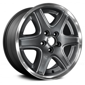 "Replace® - 16"" Remanufactured 6 Spokes Charcoal Gray Factory Alloy Wheel"