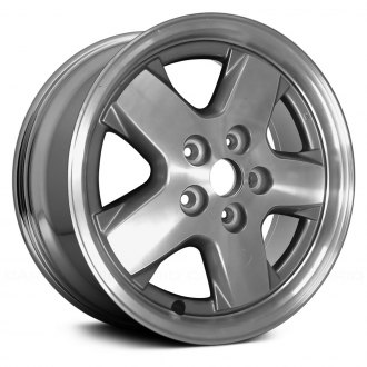 "Replace® - 16"" Remanufactured 5 Spokes Light PVD Chrome Factory Alloy Wheel"