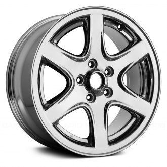 "Replace® - 17"" Replica 6 Spokes Chrome Factory Alloy Wheel"