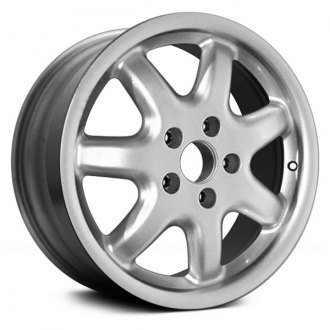 audi a4 replacement factory wheels rims carid Audi A4 Quattro Engine Diagram replace 16x7 7 spoke silver alloy factory wheel remanufactured