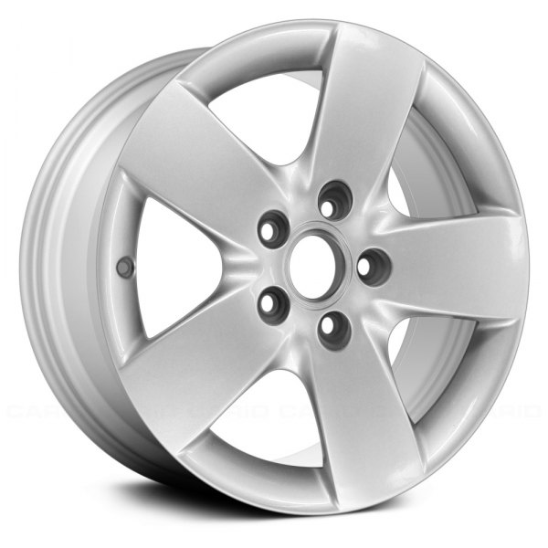 "Replace® - 16"" Remanufactured 5 Wide Spokes Silver Factory Alloy Wheel"