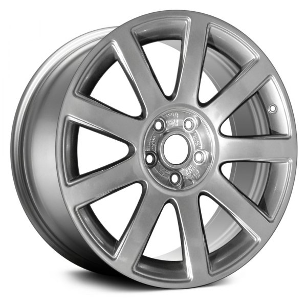 "Replace® - 18"" Remanufactured 9 Spokes Hyper Silver Factory Alloy Wheel"