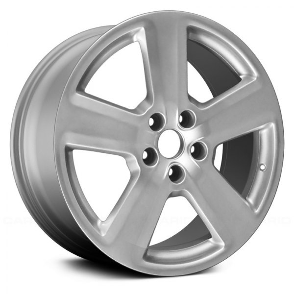 "Replace® - 18"" Remanufactured 5 Spokes All Painted Silver Factory Alloy Wheel"