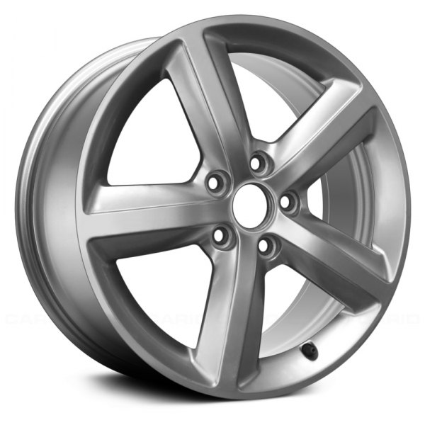 "Replace® - 17"" Remanufactured 5 Spokes All Painted Hyper Silver Factory Alloy Wheel"