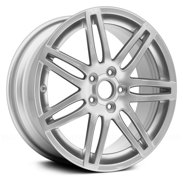 "Replace® - 18"" Remanufactured 7 Double Spokes All Painted Silver Factory Alloy Wheel"