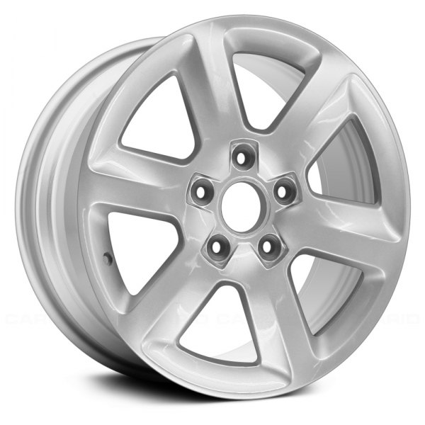 "Replace® - 18"" Remanufactured 6 Spokes Bright Sparkle Silver Face Factory Alloy Wheel"