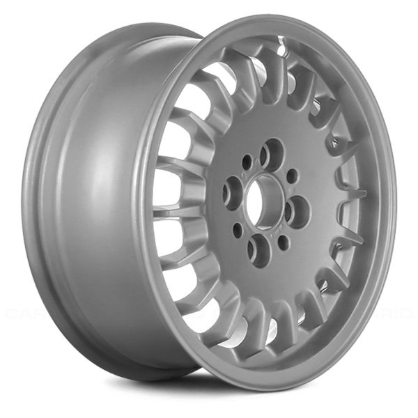 "Replace® - 14"" Remanufactured 18 Holes Argent Factory Alloy Wheel"