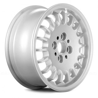 "Replace® - 14"" Remanufactured 18 Holes White Factory Alloy Wheel"