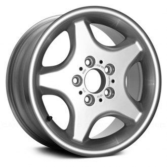 "Replace® - 16"" Remanufactured 5 Holes Silver Factory Alloy Wheel"