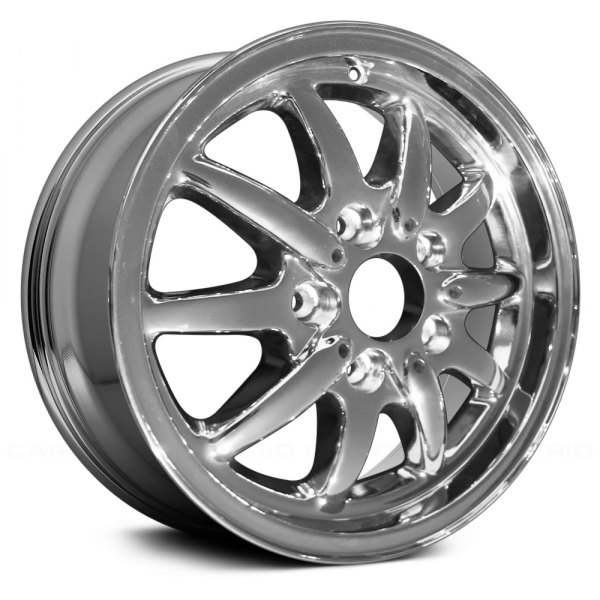 "Replace® - 15"" Remanufactured 10 Alternating Spokes Chrome Factory Alloy Wheel"