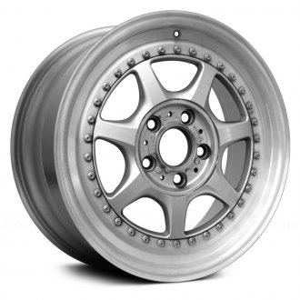 "Replace® - 17"" Remanufactured 7 Spokes Machined and Silver Factory Alloy Wheel"