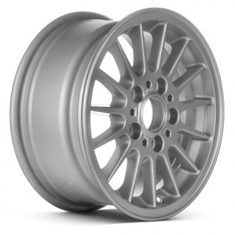 "Replace® - 15"" Remanufactured 15 Spokes All Painted Silver Factory Alloy Wheel"
